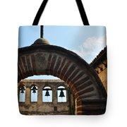 Bells Of Mission San Juan Capistrano Tote Bag