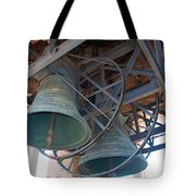 Bells Of Torre Dei Lamberti - Verona Italy Tote Bag