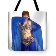 Belly Dance Modeling. Sofia Of Ameynra Tote Bag