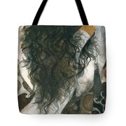 Belly Dancer And The Mirror Tote Bag