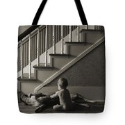 Belly Scratch Tote Bag