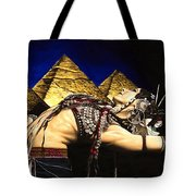 Bellydance Of The Pyramids - Rachel Brice Tote Bag