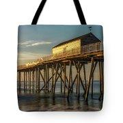 Belmar Fishing Pier Tote Bag