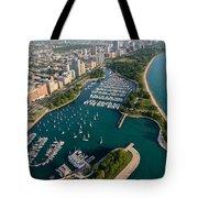 Belmont Harbor Chicago Tote Bag