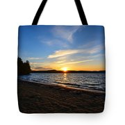 Belmont Nh Beach Tote Bag