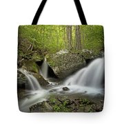 Below Apple Orchard Falls Tote Bag