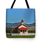 Below Hearst Castle Tote Bag