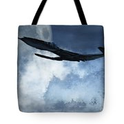 Below Radar Tote Bag