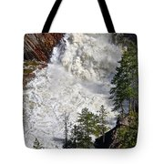 Below The Dam Tote Bag