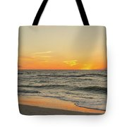 Below The Horizon Tote Bag