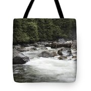 Below The Torrent   Tote Bag