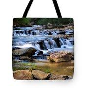 Below Toccoa Falls Tote Bag