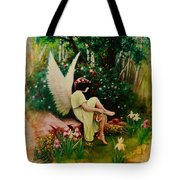 Beltaine Angel Tote Bag
