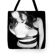 Belted 3 - Self Portrait Tote Bag