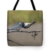 Belted Fish Tote Bag