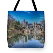 Belvedere Castle And Turtle Pond Tote Bag