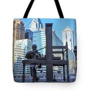 Ben Franklin Printing Press - Philadelphia Tote Bag
