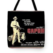 Ben Gazarra British 4 Sheet Theatrical Poster Capone 1975 Color Added 2016 Tote Bag