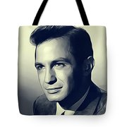 Ben Gazarra, Vintage Actor Tote Bag