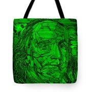 Ben In Wood Green Tote Bag
