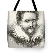 Ben Jonson 1572 To 1637. English Tote Bag