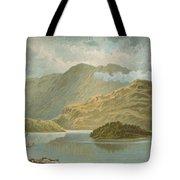 Ben Venue And Ellen's Isle   Loch Katrine Tote Bag