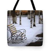 Bench Tote Bag