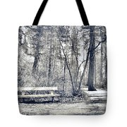 Benched Tote Bag