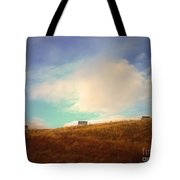 Benches With A View 2 Tote Bag