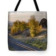 Bend In The Tracks Tote Bag