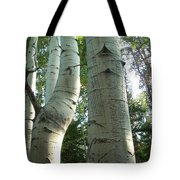Bend In Time Tote Bag