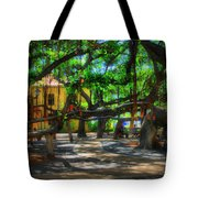 Beneath The Banyan Tree Tote Bag