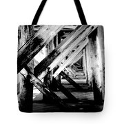 Beneath The Docks Night Tote Bag
