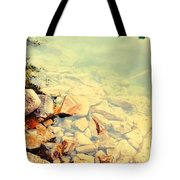 Beneath The Water Tote Bag