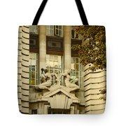 Benevolence And Humanity At County Hall Tote Bag