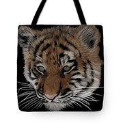 Bengal Tiger Cub Tote Bag