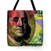 Benjamin Franklin - $100 Bill Tote Bag