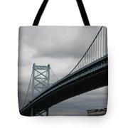 Benjamin Franklin Bridge Philadelphia Tote Bag