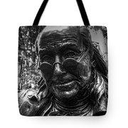 Benjamin Franklin Memorial Tote Bag