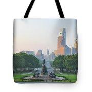 Benjamin Franklin Parkway - Philly Tote Bag