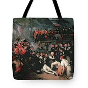 Benjamin West Tote Bag by The Death of Nelson