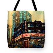Bens Restaurant Deli Tote Bag