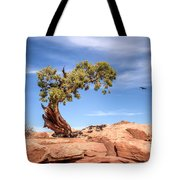 Bent But Not Broken Tote Bag