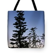 Bent Conifer Tote Bag