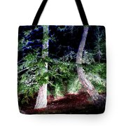 Bent Fir Tree Tote Bag