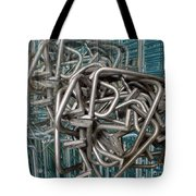 Bent Heavy Wire Tote Bag