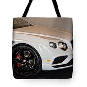 Bentley Continental Gt V8s Tote Bag