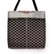 Bentley Grille And Insignia Tote Bag