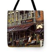 Bentleys Restaurant Woodstock Vermont Tote Bag