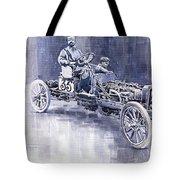 Benz 60hp Targa Florio Rennwagen 1907 Tote Bag
